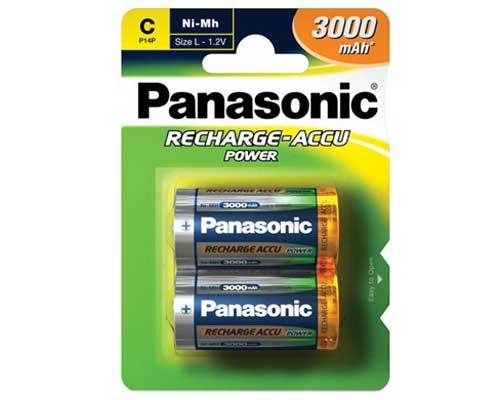 Akku Panasonic C 3000mAh 2kpl