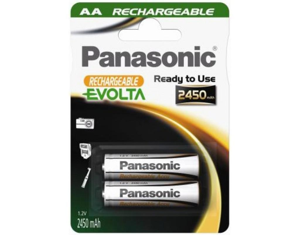 Akku Panasonic Evolta AA 2450mAh