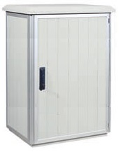 Oudoor cabinet e.g. 27U×W609×D809