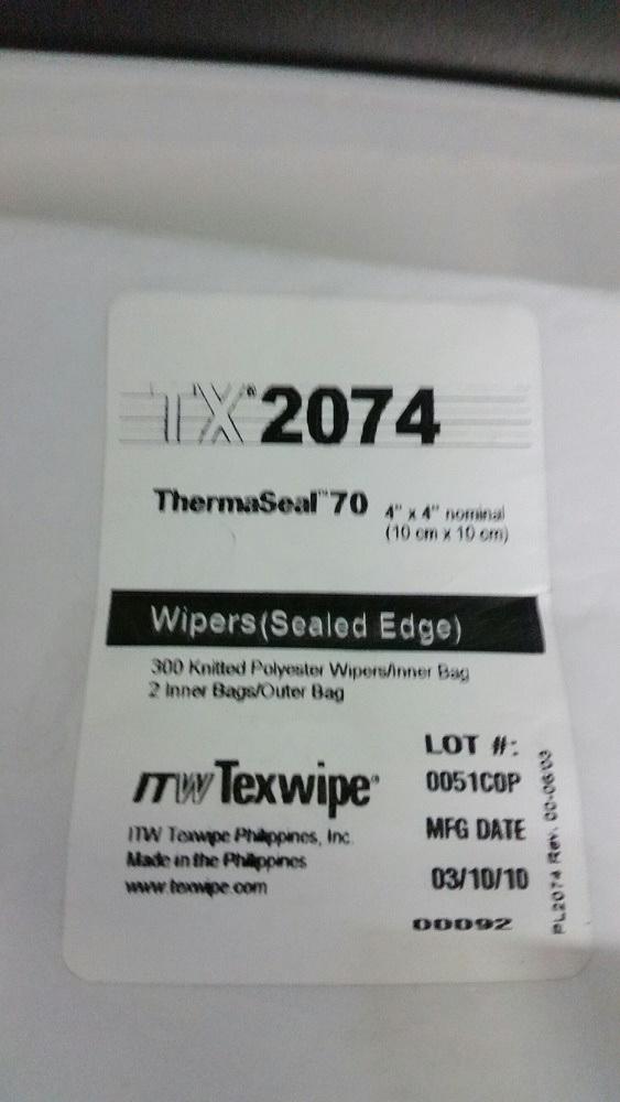 "ThermaSeal 4""x4"" 2x300/bag"