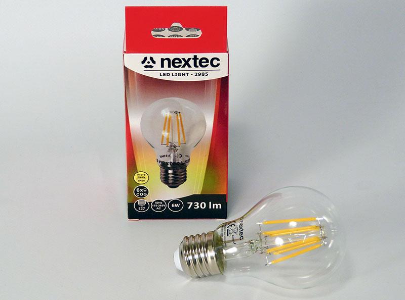 Ledlamp E-27 230V 6W