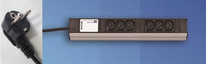 DI-Strip 6 IEC-320