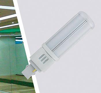 Ledlamp G24 5W 230V 4000K 120 degr.