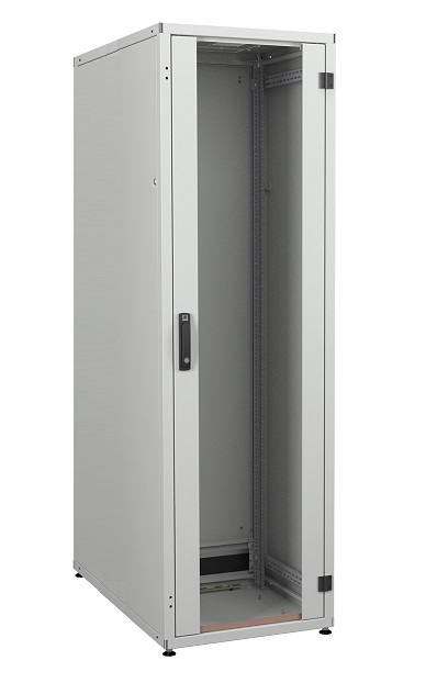 IT cabinet 42U 600x800, glass door