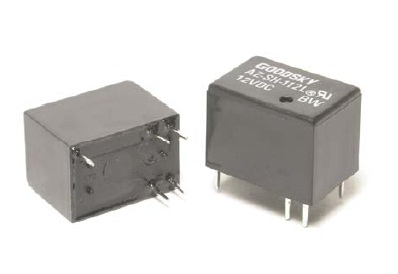 Relay 6VDC 1C 120VAC/1A